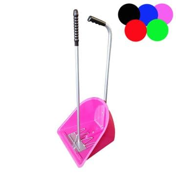 STABLE MANURE SCOOP + RAKE SET horse equestrian dog poop pony CHOICE of COLOURS